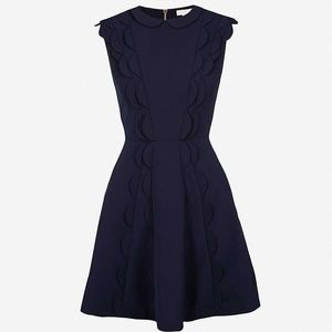 Ted Baker Triski Dress, Navy Blue